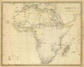 Society for the Diffusion of Useful Knowledge - Africa, 1839