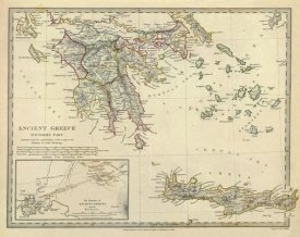 Society for the Diffusion of Useful Knowledge - Ancient Greece, Southern, 1829