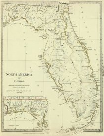 Society for the Diffusion of Useful Knowledge - Florida, 1834