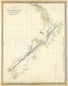 Society for the Diffusion of Useful Knowledge - New Zealand, 1838