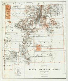 U.S. General Land Office - Territory of New Mexico, 1879