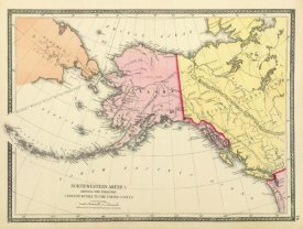 United States Coast Survey - North Western America showing the Territory ceded by Russia to the United States, 1872