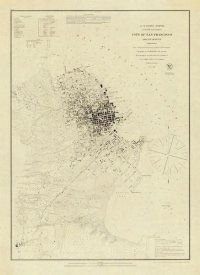 United States Coast Survey - San Francisco and Vicinity, 1853