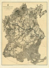 United States War Department - Civil War Map - Appomattox Court House, 1869
