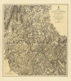 United States War Department - Civil War Military Operations of the Atlanta Campaign, 1877