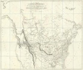 Aaron Arrowsmith - New Discoveries in the Interior Parts of North America, 1814
