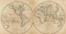 Mathew Carey - The World, 1825