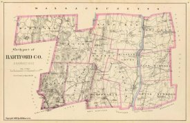 D.H. Hurd and Co. - Connecticut: Hartford County North, 1893