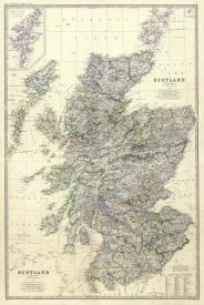 Alexander Keith Johnston - Composite: Scotland, 1861