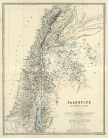 Alexander Keith Johnston - Palestine, 1861