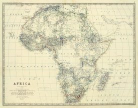 Alexander Keith Johnston - Africa, 1861