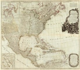 Thomas Pownall - Composite: North America, West India Islands, 1786