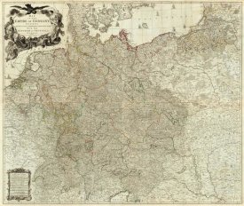 Louis Stanislas d'Arcy Delarochette - Map of the Empire of Germany, 1790