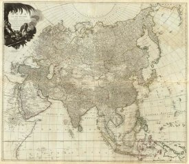 Thomas Kitchin - Composite: Asia, islands according to d'Anville, 1787