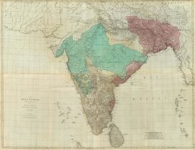 Thomas Jefferys - Composite: East Indies with roads, 1768