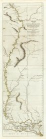 Lieut. Ross - Course of the River Mississipi, from the Balise to Fort Chartres, 1775