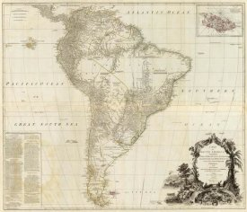 Thomas Kitchin - Composite: South America, 1787