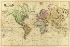 Daniel Lizars - World, 1831