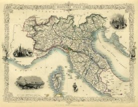 R.M. Martin - Northern Italy, 1851