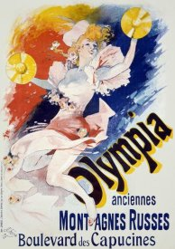Jules Cheret - Olympia/Anciennes Montagnes Russes