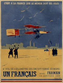 Lucien Cave - French Aviation: Commemorative Posters 2 of 3