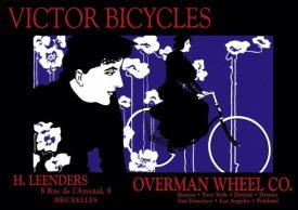 William H. Bradley - Victor Bicycles: Overman Wheel Company, 1896