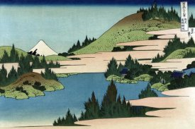 Hokusai - Lake of Hakone in Sagami Province, 1830