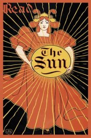 Louis Rhead - Read the Sun, 1895