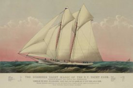 Unknown - The Schooner yacht magic of the N.Y. Yacht Club, 1870