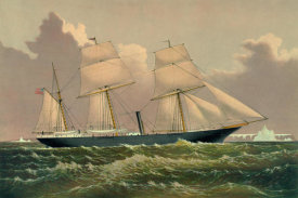 Unknown - Yacht Jeannette, 1881
