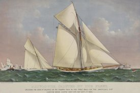 Unknown - America's Cup Yacht Race 1886, 1886
