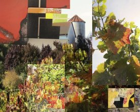 Suzanne Silk - Napa Collage I
