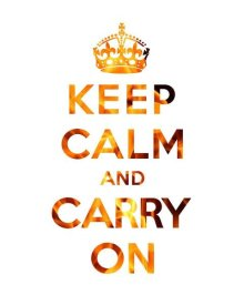 The British Ministry of Information - Keep Calm and Carry On - Texture I