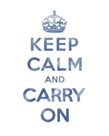 The British Ministry of Information - Keep Calm and Carry On - Texture III