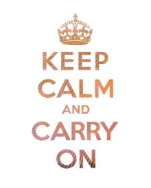 The British Ministry of Information - Keep Calm and Carry On - Texture IV