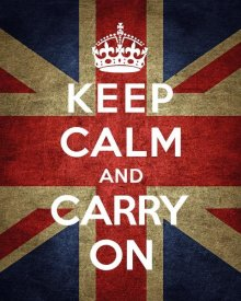 The British Ministry of Information - Keep Calm and Carry On - Union Jack