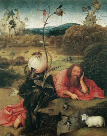 Hieronymus Bosch - St John The Baptist In The Wilderness