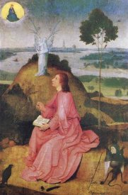 Hieronymus Bosch - St John The Evangelist On Patmos