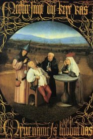 Hieronymus Bosch - The Cure Of Folly