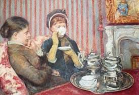 Mary Cassatt - A Cup Of Tea 1880