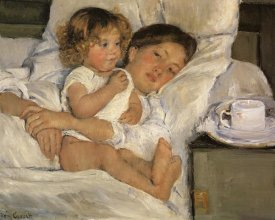 Mary Cassatt - Breakfast In Bed 1897