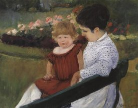 Mary Cassatt - In The Park 1894