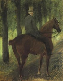 Mary Cassatt - Mr Robert S On Horseback 1885