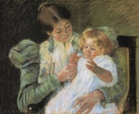 Mary Cassatt - Pattycake 1897
