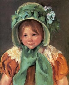 Mary Cassatt - Sara In A Green Bonnet 1901