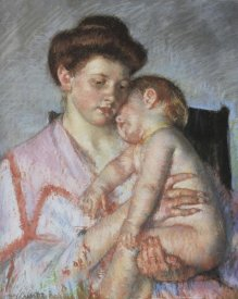 Mary Cassatt - Sleepy Baby 1910