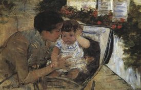 Mary Cassatt - Susan Comforting The Baby 1881
