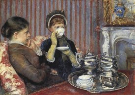 Mary Cassatt - The Tea, 1880