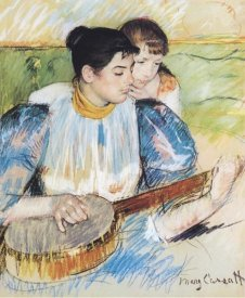 Mary Cassatt - The Banjo Lesson, 1894