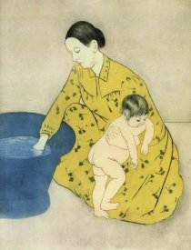Mary Cassatt - The Childs Bath 1891